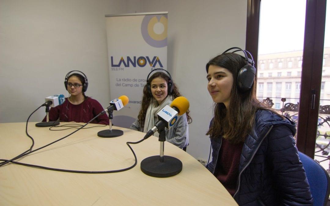 Alumnes de l'Institut Gabriel Ferrater de Reus participen al programa 'Pica Lletres' aquest dimarts