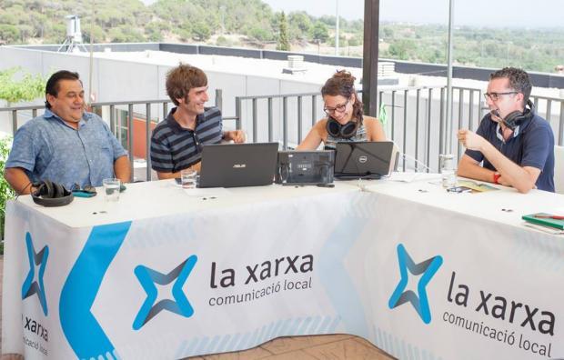 LANOVA Ràdio celebra els 1.000 programes de 'La tarda' amb un pintxo del Forn Sistaré de Reus