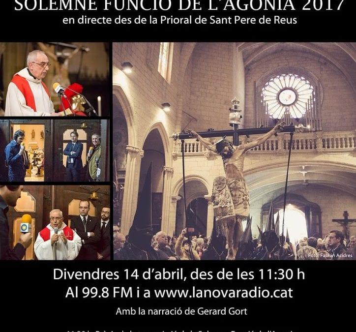 LANOVA Ràdio transmetrà en directe la Solemne Funció de l'Agonia