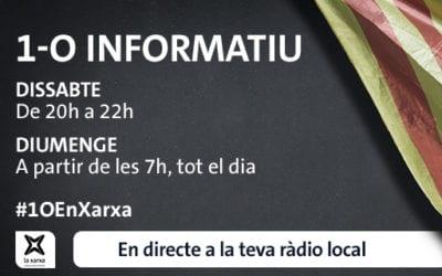 LANOVA Ràdio oferirà un exhaustiu seguiment de l'1 d'octubre a través de La Xarxa