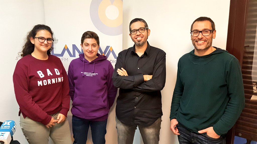 """El català entre els joves centra de nou el cicle de tertúlies """"Vivim i divertim-nos en català 2018"""" coorganitzat amb el Centre de Lectura"""