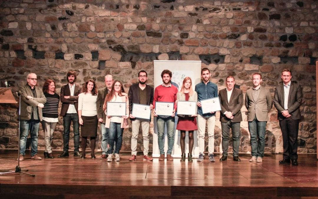 Es lliuren els guardons del 2n Premi de Periodisme Jove Joan Marc Salvat