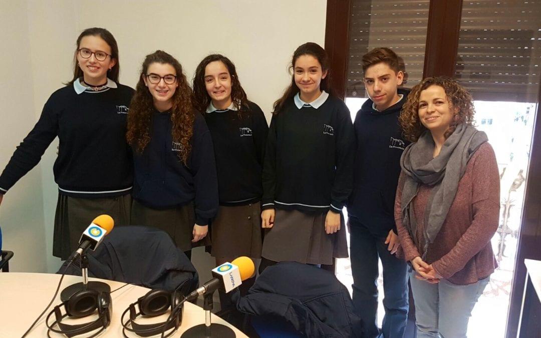 Alumnes del Col·legi La Presentació de Reus visiten LANOVA per participar al 'Pica Lletres'