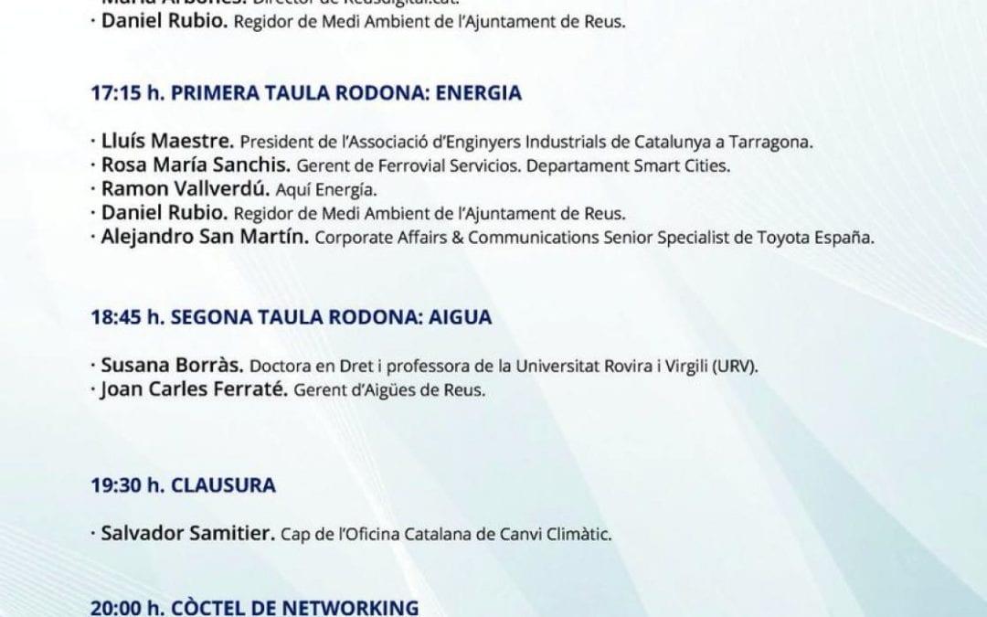 LANOVA Ràdio i Reusdigital.cat organitzen la jornada 'Energia i aigua, gestió de dos recursos escassos'