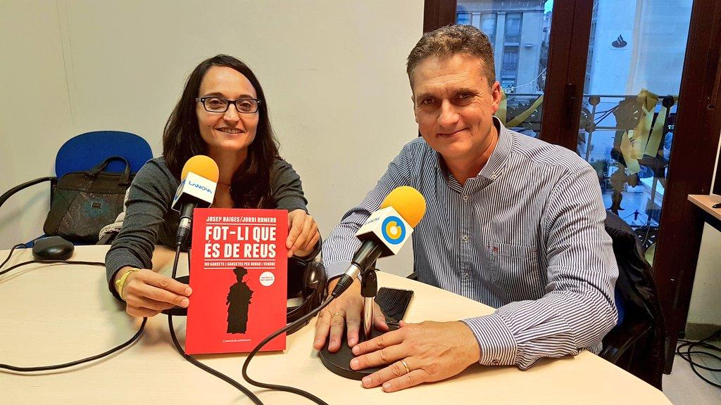 """🔊 El """"Vols venir a la meva barca?"""" parla amb Josep Baiges del llibre """"Fot-li que és de Reus"""""""