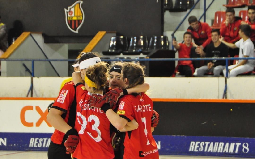 🔊 El Reus Deportiu comença amb mal peu l'OK Lliga Femenina