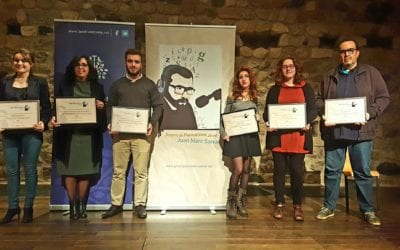 La tercera edició del Premi de Periodisme Jove Joan Marc Salvat distingeix comunicadors del territori de prometedora trajectòria