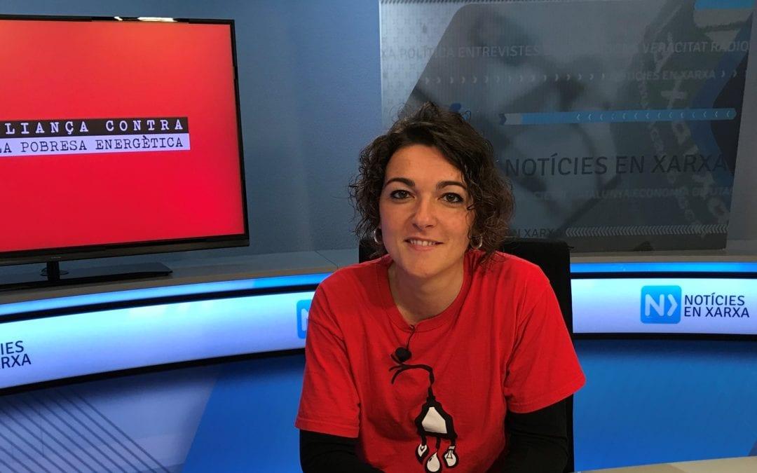 """🔊 Entrevista a la portaveu de l'Aliança contra la Pobresa Energètica, Maria Campuzano, a """"Carrer Major"""""""