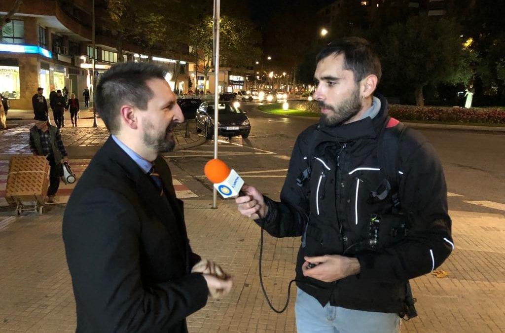 🔊 Entrevista al president de l'Asamblea Nacional Española, Miguel Martínez