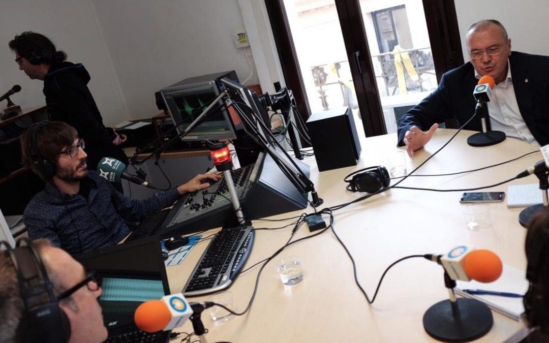 """🔊 📽 """"La cua de palla"""" amb l'alcalde de Reus, Carles Pellicer"""