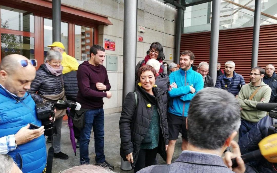 🔊 Detenen Mariona Quadrada (CUP) i la deixen lliure després de declarar davant els jutjats