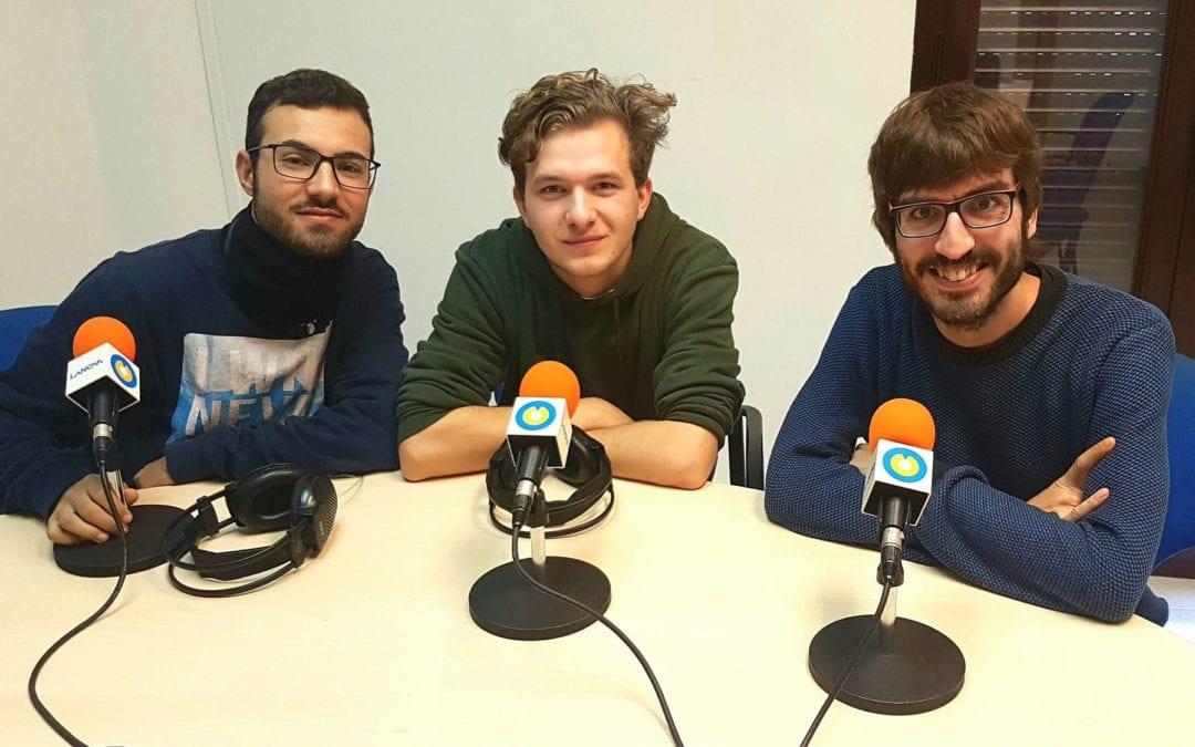 """🔊 Tertúlia """"Com aprenen el català els joves que fa pocs anys que viuen a casa nostra?"""" amb Nouriddine El Ouahbi i Sebastian Dumitru Horobet"""