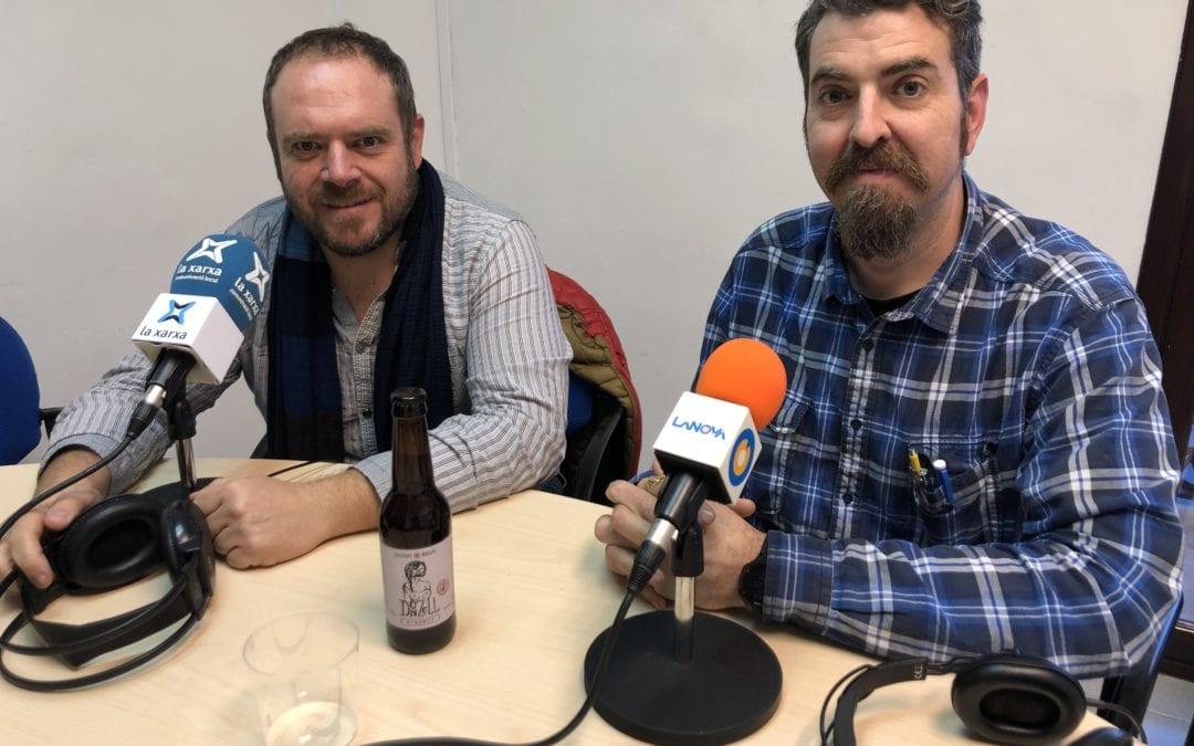 """🔊 L'AC/BC presenta la cervesa Donzell Biermut a """"Carrer Major"""""""