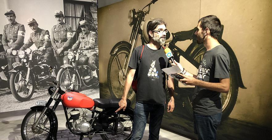 """🔊 Al """"Carrer Major"""" visitem l'exposició """"Reus, motor econòmic del sud de Catalunya"""" amb el seu comissari Joan Navais"""
