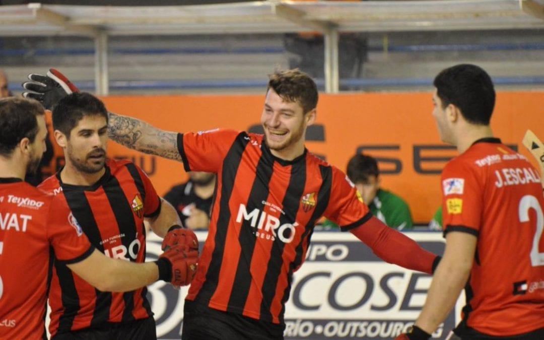 🔊 Un Reus imparable goleja l'Alcobendas i segueix sense conèixer la derrota a l'Ok Lliga
