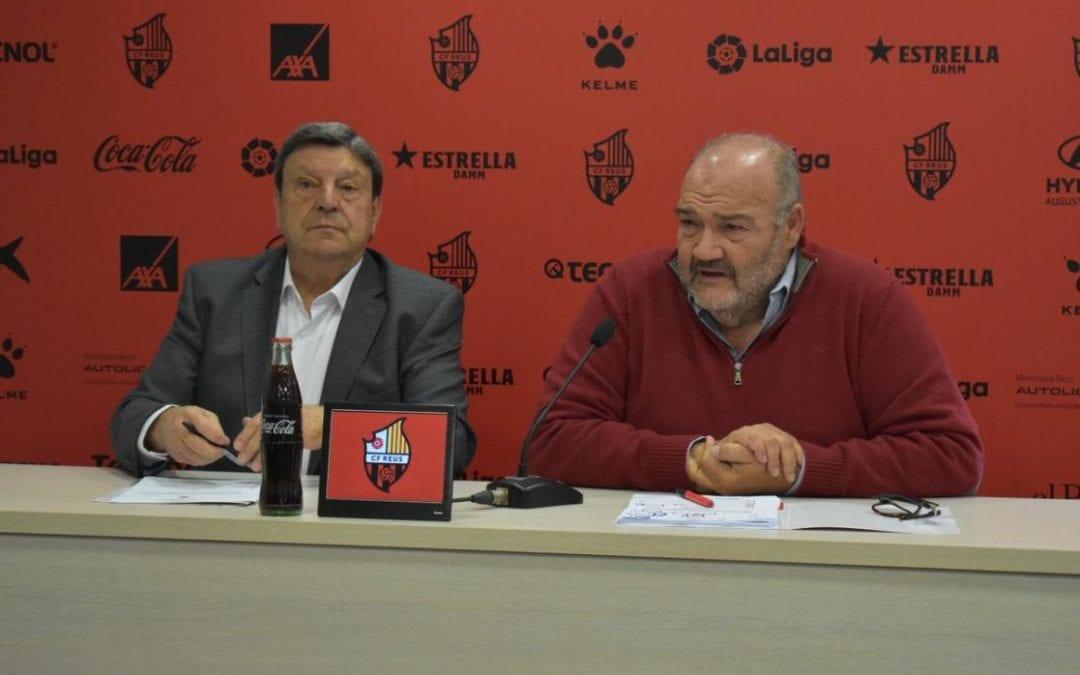 🔊 El màxim accionista del CF Reus, Joan Oliver, confia en pagar les nòmines pendents de la plantilla i treballadors abans que demandin el club