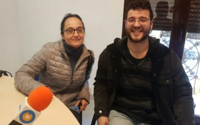 """🔊 Tertúlia """"L'ús de la llengua catalana entre els joves"""" amb Agnès Toda i Albert Salas"""