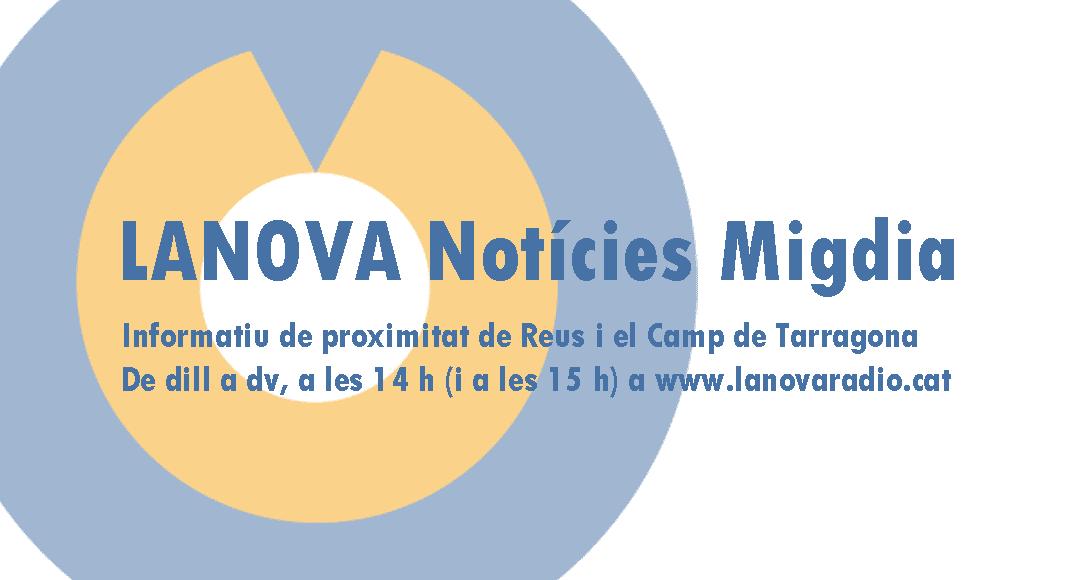 """🔊 """"LANOVA Notícies Migdia"""". Dimarts 1 d'octubre de 2019"""