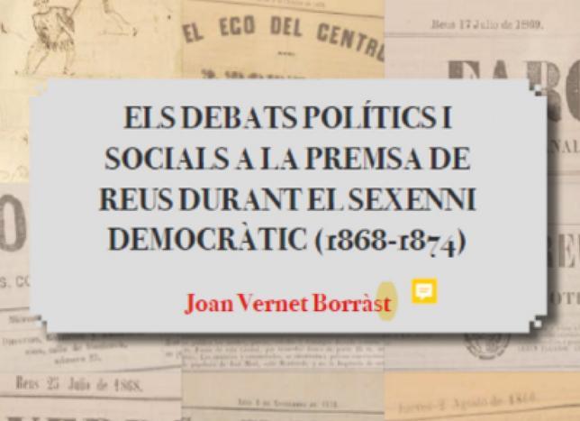 """🔊 L'historiador Joan Vernet i el seu estudi de la premsa durant el sexenni democràtic a Reus, al """"Vols venir a la meva barca?"""""""