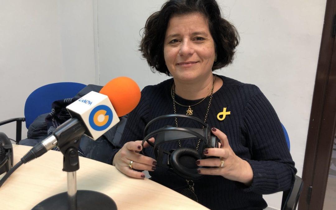 """📽🔊 Montserrat Vilella: """"Volem que aquest any es presentin més sol·licituds d'ajudes per a la llum i el gas"""""""