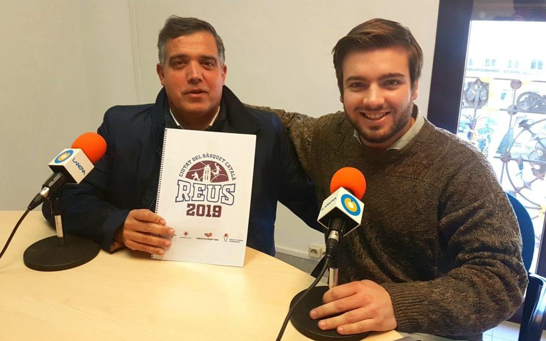 """🔊 L'inici de Reus Ciutat del Bàsquet Català 2019, al """"Fot-li Esports!"""" amb el regidor Jordi Cervera"""