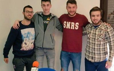 """🔊 Àlex Rodríguez del Reus Deportiu Miró i Jordi Llaberia de la Fundació del Bàsquet Català, al """"Fot-li Esports!"""""""
