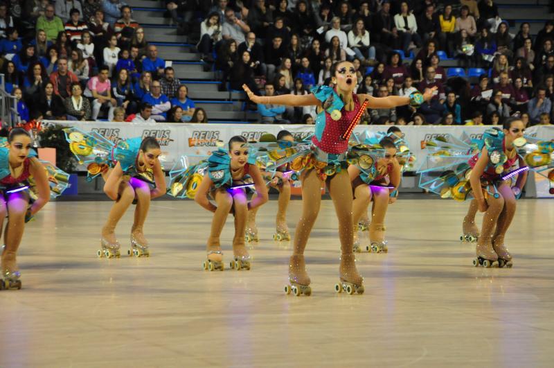 🔊 Els grups xou de patinatge se citen al Pavelló Olímpic