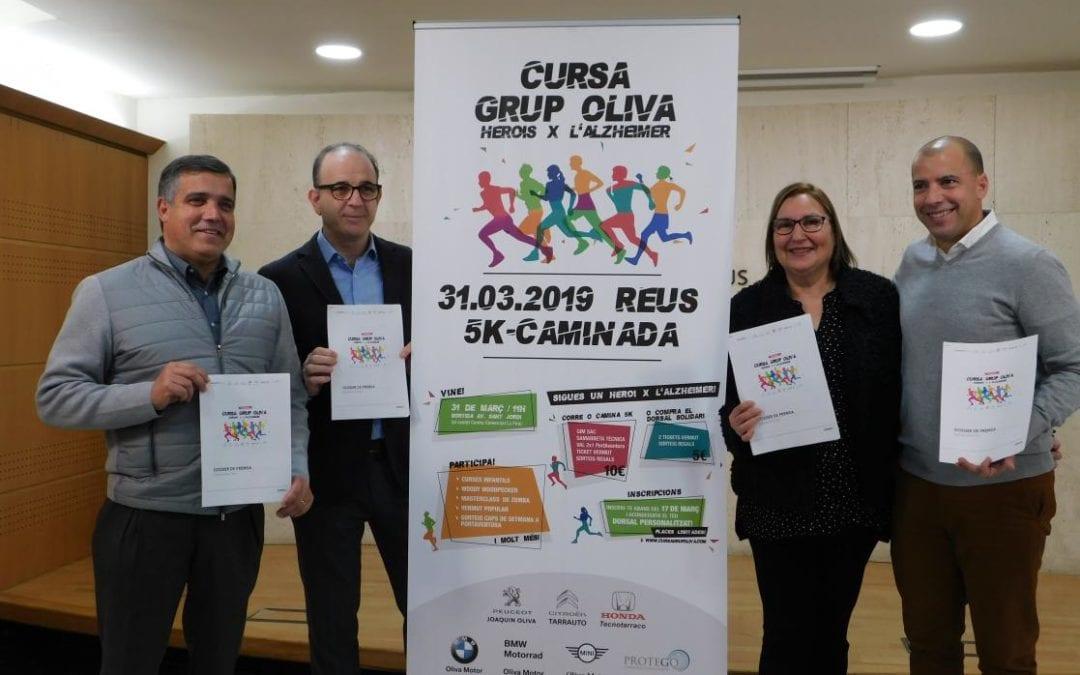 🔊 Reus viurà la segona edició de la cursa Grup Oliva 'Herois per l'alzheimer'
