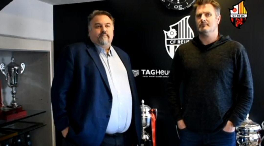 🔊 Russel Platt i Clifton Onolfo són oficialment propietaris del CF Reus