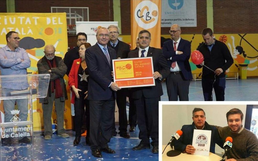 🔊 Reus Ciutat del Bàsquet Català 2019. 01: Entrevista al regidor d'Esports, Jordi Cervera
