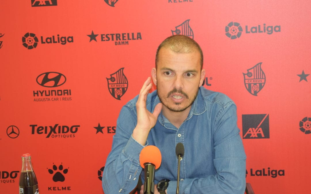 🔊 L'entrenador del Reus B Cambrils , Albert Company deixa entreveure la seva sortida quan acabi el curs