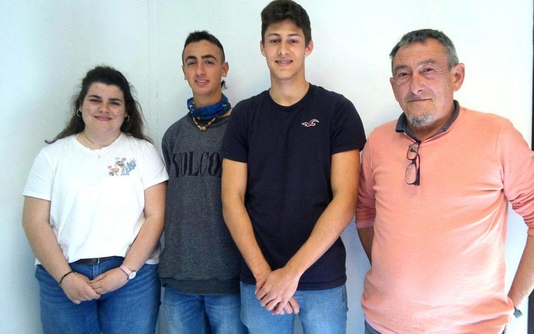 🔊 Tres alumnes de l'Institut Gabriel Ferrater, davant el repte de participar en les Olimpíades de Geologia a nivell estatal