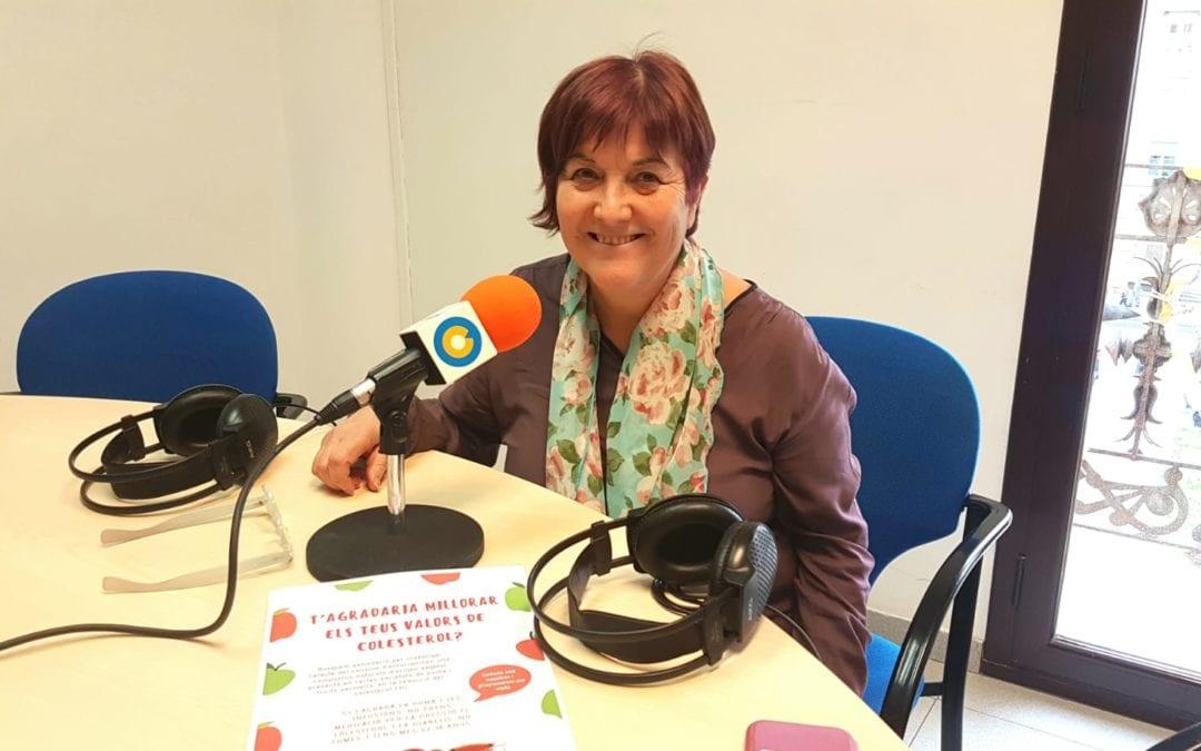 """🔊 Rosa Maria Solà: """"Volem demostrar que el consum de poma té un efecte sobre el colesterol"""""""