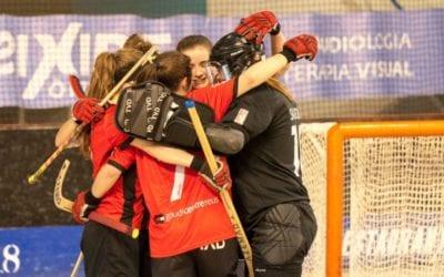 🔊  Al Reus Deportiu d'hoquei femení se li escapa el triomf a la recta final (2-2)