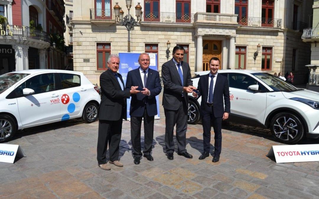 🔊 L'Ajuntament de Reus potenciarà la mobilitat compartida gràcies a un acord pioner amb Toyota
