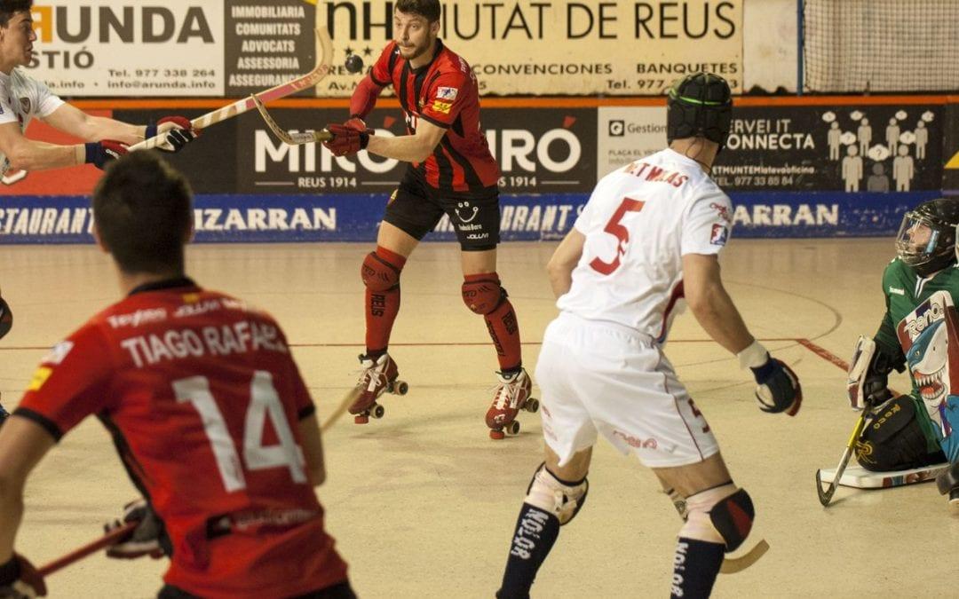 🔊 El Reus Deportiu Miró sua la samarreta per  desfer-se de l'Igualada (5-3)