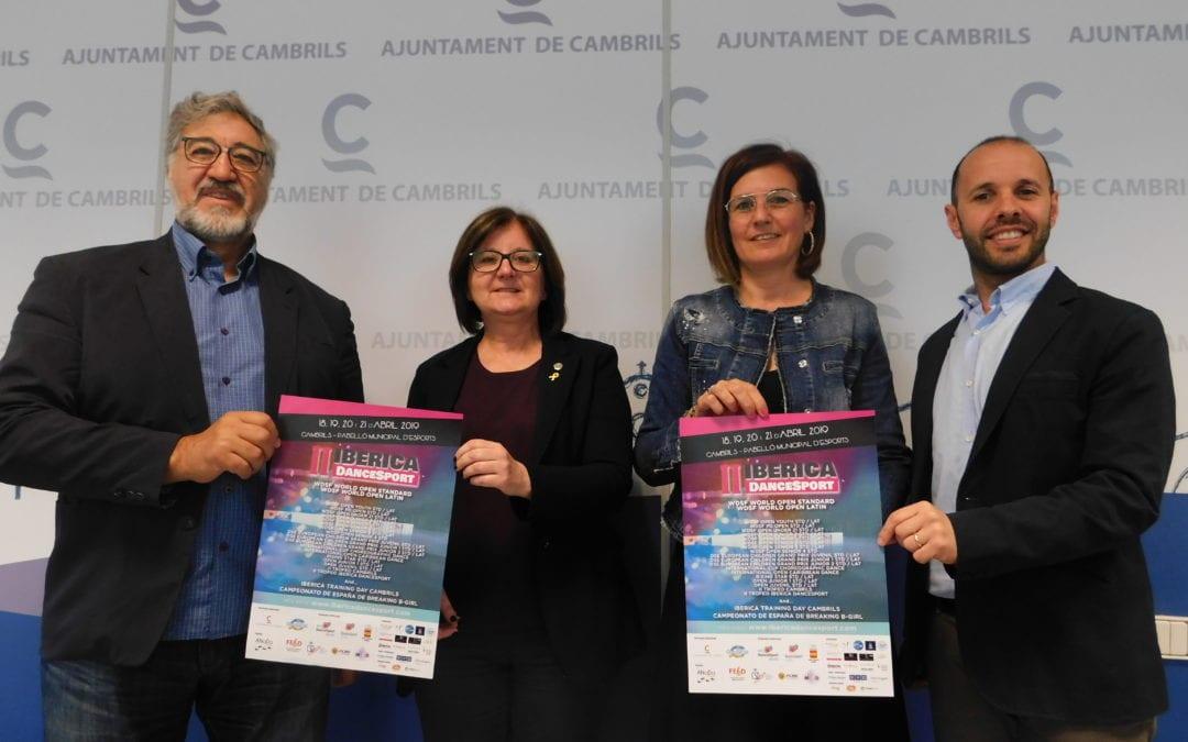 🔊 Aterra a Cambrils la 2a edició dels Iberica Dancesport de Balls Esportius