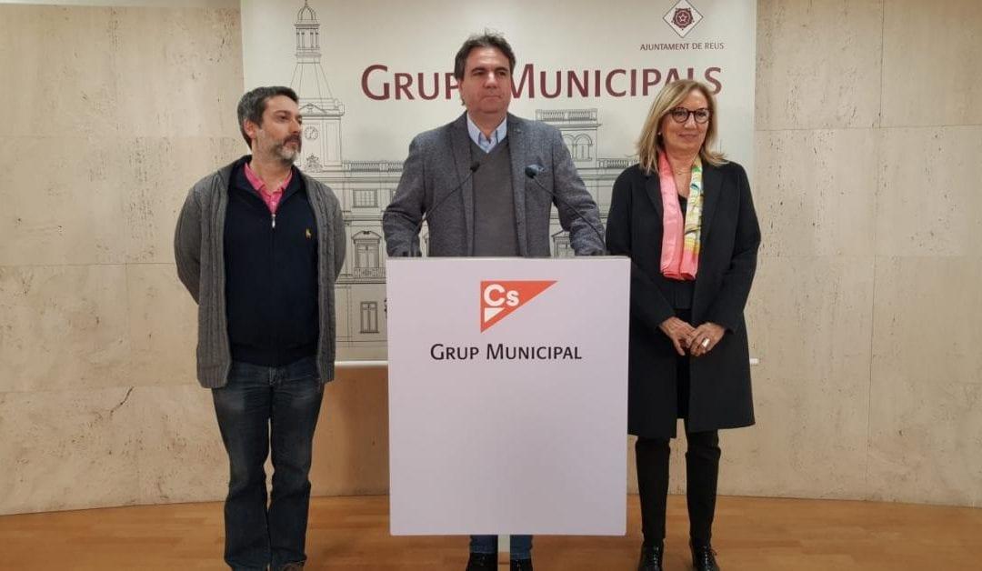 🔊 Els quatre regidors de Cs de Reus es donen de baixa del partit