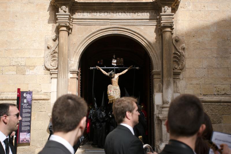 """🔊 Quant pesa exactament el Sant Crist de la Sang? Aquesta setmana s'ha pesat """"perquè hi havia molta rumorologia al voltant"""""""