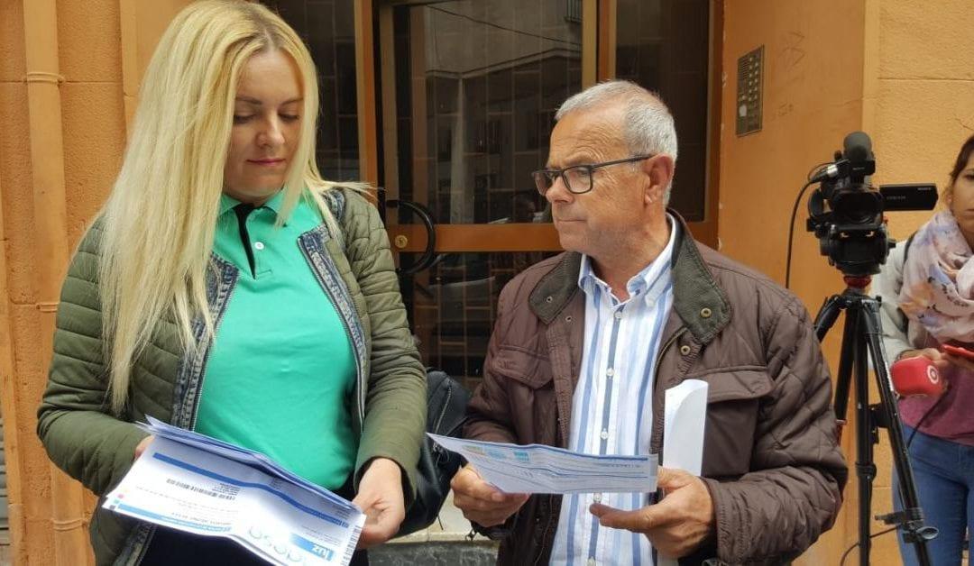 🔊 Els veïns del bloc amb pisos ocupats del carrer Wad Ras tornen a tenir llum després de prop de dos mesos