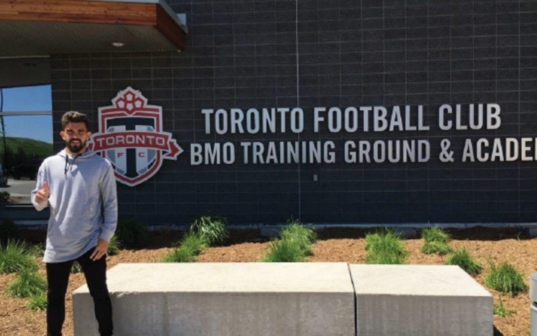 🔊 Adrià Arjona s'entrena amb el Toronto FC, la primera acció del conveni amb el CF Reus