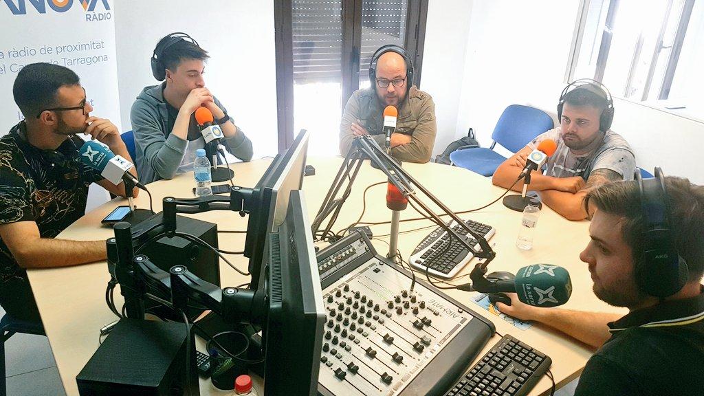 """🔊 """"Fot-li Esports! 30"""": Tertúlia sobre el CF Reus amb Xavi Guix i Adrià Ruiz de Redblacks"""