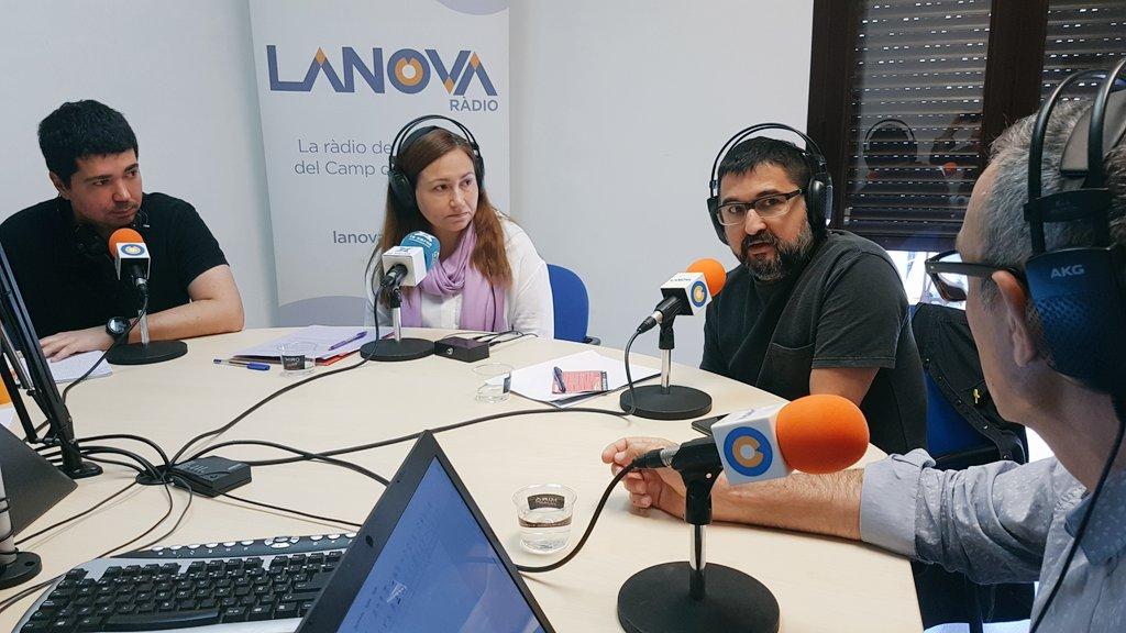 """🔊 📽 """"La cua de palla"""" amb Pilar Flamenco (En Comú Podem) i Lluís Pallejà (Primàries Reus)"""