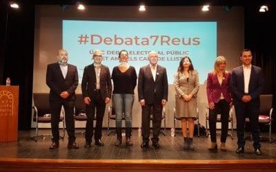 🔊 📽 📷 #Debata7Reus. Eleccions municipals'19