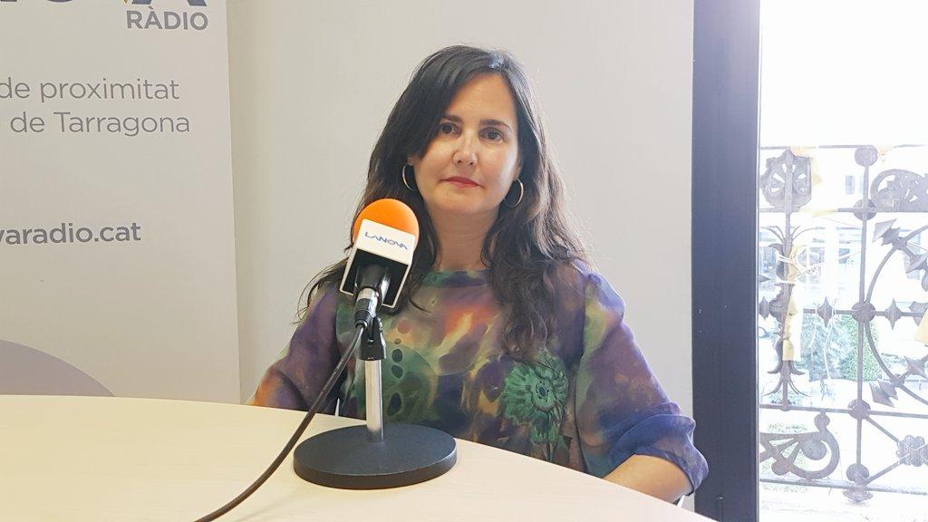 """Débora García (Cs): """"Contra l'assetjament independentista no podem estar callats"""""""