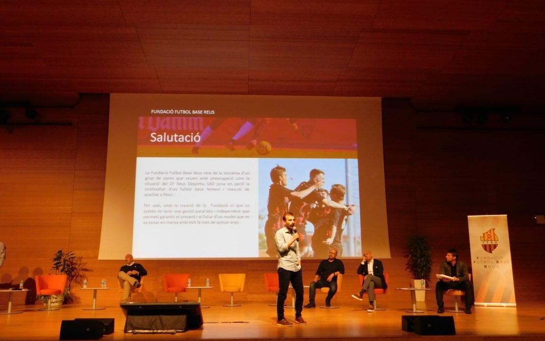🔊 La Fundació Futbol Base Reus es presenta a jugadors i famílies