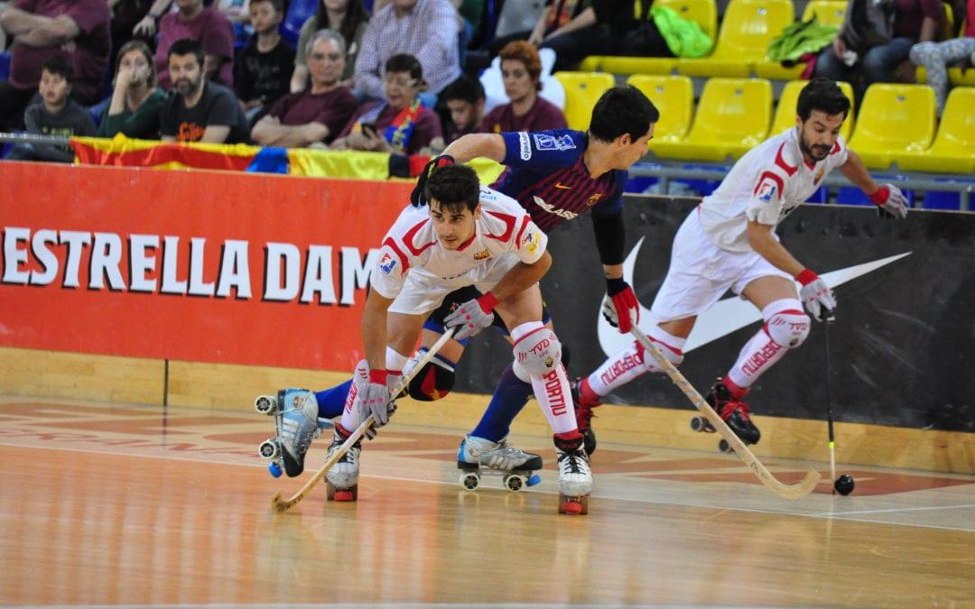 🔊  El Reus Deportiu Miró perd els tres punts i la segona plaça al Palau Blaugrana