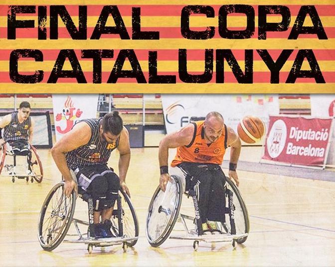 🔊 El Costa Daurada de Reus i el Global s'enfronten en la final de la Copa Catalunya de bàsquet en cadira de rodes