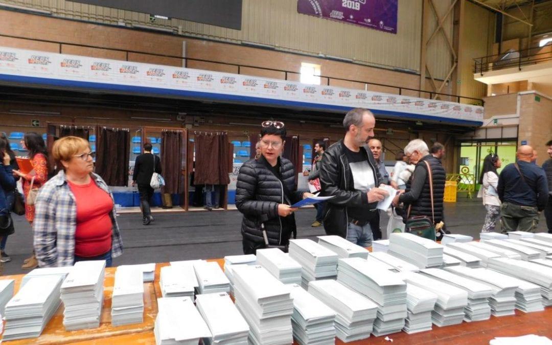 Reus tanca les urnes amb un 60,30 % de participació, prop de 6 punts més que el 2015