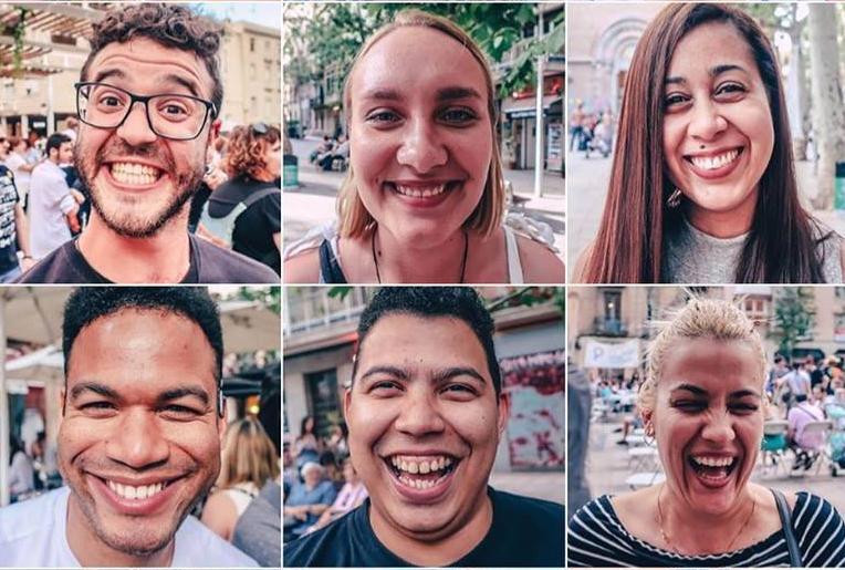 🔊 Festa al Jardí de la Casa Rull de Looking for Smiles, projecte que retrata somriures arreu del món